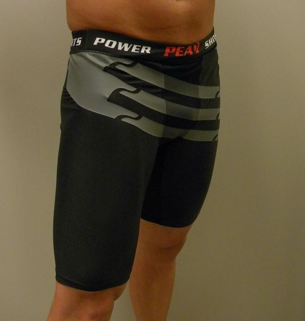 peax power shorts angle view